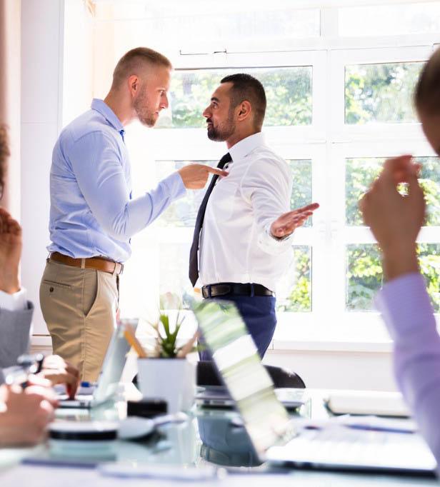 munkahelyi konfliktus megoldás segítség